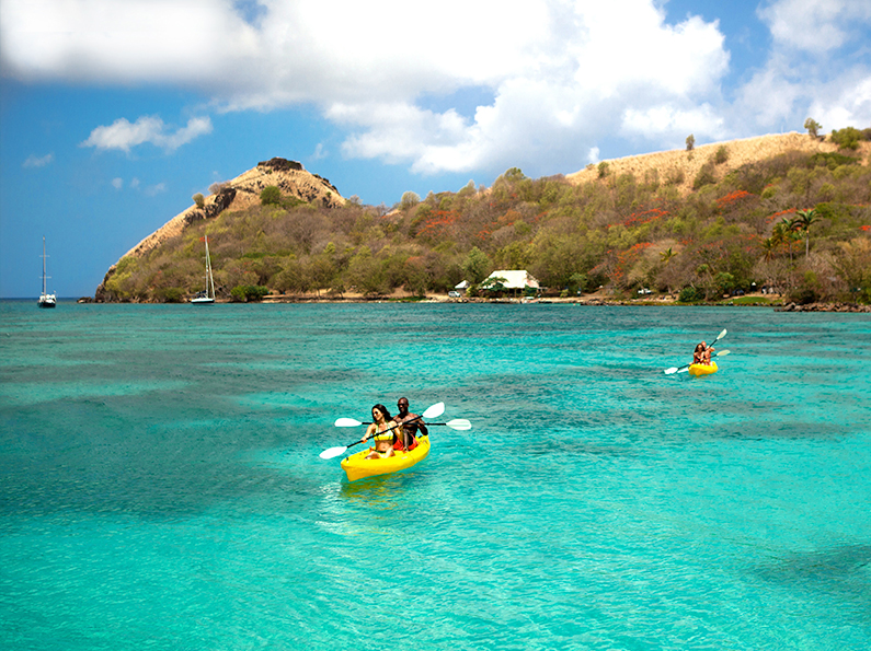 Kayak at Sandals St. Lucia