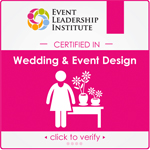 Event Leadership Institute - Certified In Wedding and Event Design